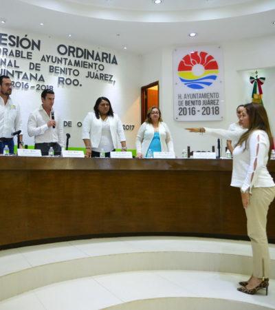 Dan Dirección de Ingresos a ex esposa de Hugo Favio Bonilla, quien ocupó el mismo puesto con Paul Carrillo