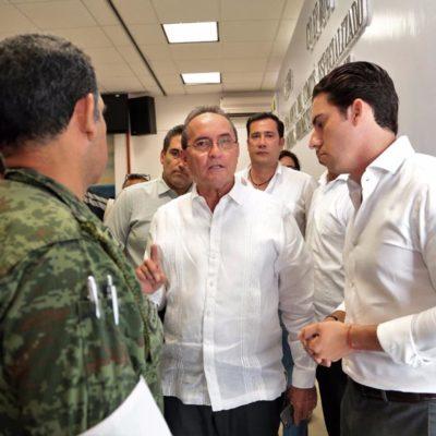LÓPEZ MENA RIEGA EL TEPACHE: Califica Secretario de Gobierno a 'Nate' como huracán y resalta que su 'ojo' no impactará Cancún
