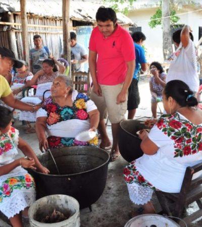 Todo listo para el inicio de la Fiesta Tradicional Maya en Tulum