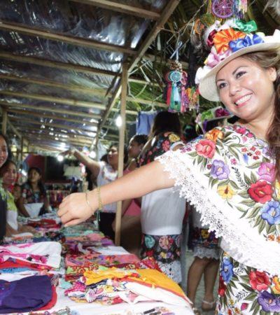 Romi Dzul muestra al mundo productos elaborados en la Zona Maya de Tulum