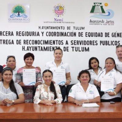 Sensibiliza a burócratas en temas de género en Tulum