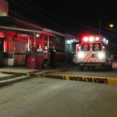 LE DAN DOS BALAZOS EN LA CABEZA: Ejecutan a un hombre en la taquería 'El Milagro' de Cancún
