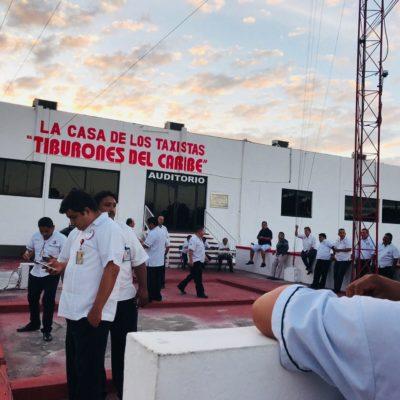 Suspenden taxistas elección de directiva de 'martillos' en Tulum