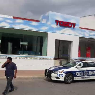 Disparan a comercio en la avenida Yaxchilán; no hay heridos