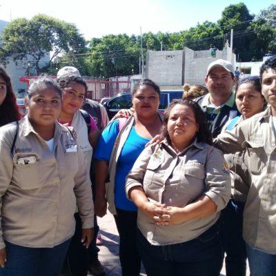 Se inconforma personal de Vectores en Solidaridad