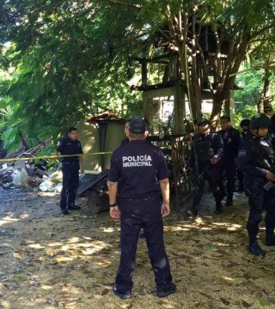 Abandona camioneta al huir de supuestos sicarios por el cenote Kantun Chi