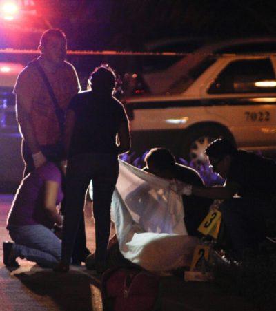 EJECUTAN A MUJER EN CANCÚN: Matan a fémina en plena vía pública en fraccionamiento Prado Norte