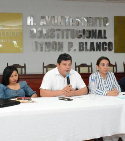 Busca Alcalde Luis Torres junto a ejidatarios solución al conflicto de intereses por iniciativa de crear un ANP en la laguna de Bacalar