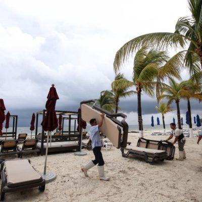 Se mantiene sector turismo en calma por tormenta 'Nate'