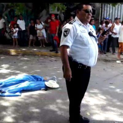 Muere hombre arrollado en Cancún