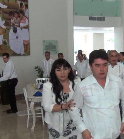 INÉDITO | EX GOBERNADOR Y EX ALCALDE SE LÍAN A GOLPES: Protagonizan Félix González y Julián Ricalde riña a bofetadas y trompadas en Chetumal… por un tuit