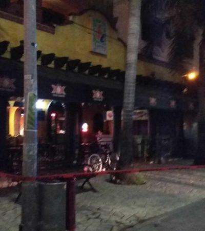 Corren a fiscal y policía turístico tras ejecución en el bar 'La Jarra' de Playa del Carmen