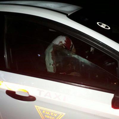 EJECUTAN A TAXISTA EN TULUM: Matan a balazos a ruletero en la carretera rumbo a FCP