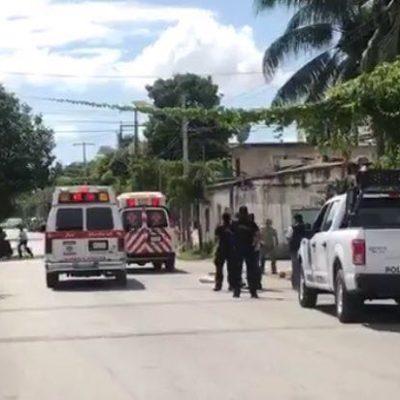 BALEAN A 2 EN LA REGIÓN 102: Ataque a disparos provoca persecución que termina con captura de un presunto sicario en Cancún