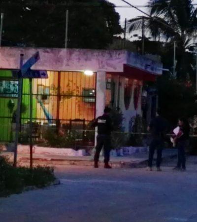 ASESINAN A UNA PERSONA EN LA SM 96: Matan a balazos a la segunda persona del día en Cancún