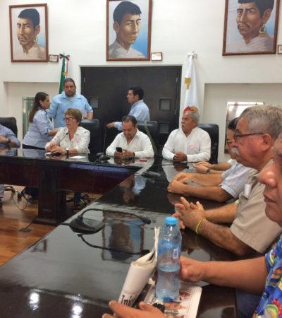 Suman pequeños propietarios y comisariados de 12 ejidos de OPB y Bacalar a diputados al compromiso para frenar creación de Área Natural Protegida