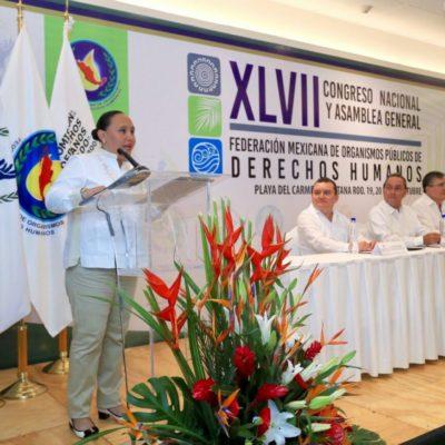 Llama Alcaldesa a privilegiar respeto a los derechos humanos para lograr la transformación social