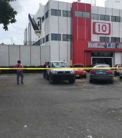 DISPAROS CONTRA EL CANAL 10 DE CANCÚN: Una persona herida en confuso incidente en las instalaciones de televisora local