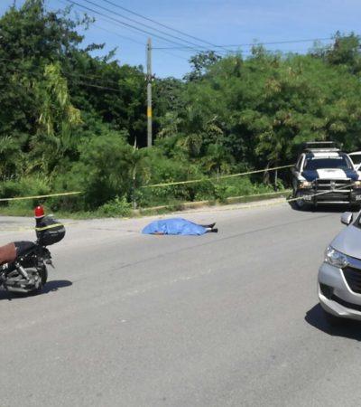 CORRE SANGRE EN EL CONFLICTO ENTRE TAXISTAS Y UBER'S: Un ruletero muerto y otro herido durante intento de agresión contra operador de la plataforma en Cancún