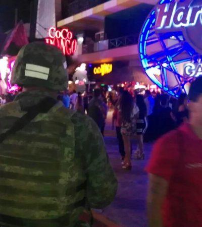 Blinda Policía Militar Zona Hotelera de Cancún