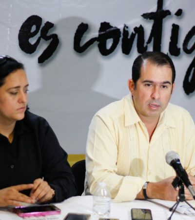 Denuncia PRD que titular de Obras y Servicios Públicos de Cancún benefició a empresas de familia tamaulipeca