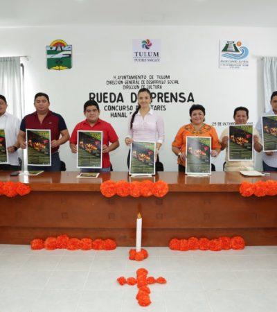 Realizará Ayuntamiento de Tulum concurso de altares Hanal Pixan 2017