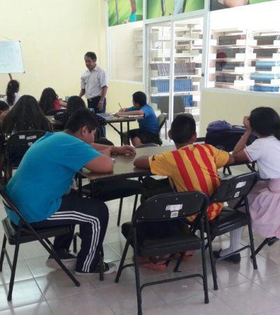 Implementa Ayuntamiento cursos de regularización para estudiantes en Tulum