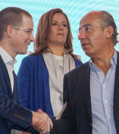 OFICIALIZA MARGARITA SU RENUNCIA AL PAN: Califica Anaya de error la salida de la esposa del ex Presidente Calderón