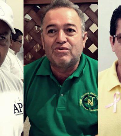 Derrochan dinero en cierres de campaña aspirantes a dirigir el sindicato de taxistas de Cancún