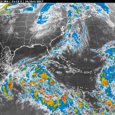 MONITOREO DEL CLIMA EN LA PENÍNSULA: Disminuirán las temperaturas en Yucatán y Quintana Roo por el frente frío número 6