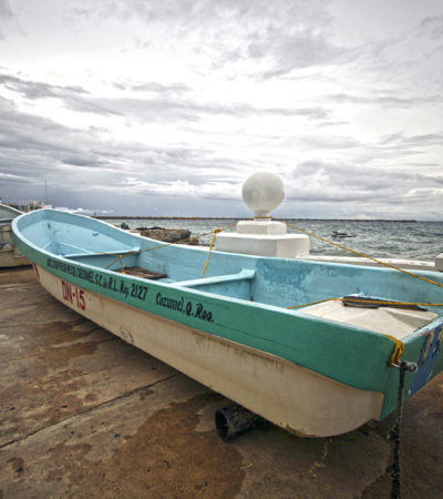 GALERÍA   Aguardaron 'Nate' en Cozumel con calma, pero sin descuidar prevención