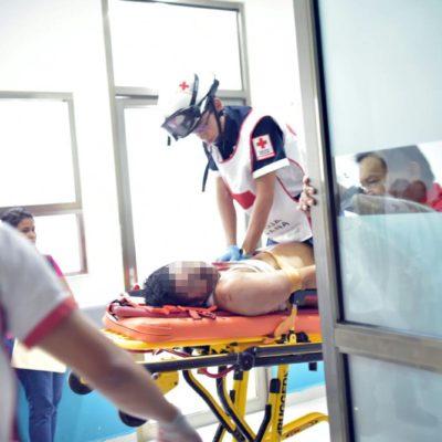 SE CONSUMA EJECUCIÓN EN PARAÍSO MAYA: Balean a un hombre en la Región 107 de Cancún y muere en el hospital