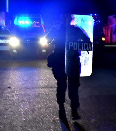GALERÍA | RIÑA DE VÁNDALOS EN FCP: Un baleado y un detenido, saldo de enfrentamiento tumultuario en la colonia Javier Rojo Gómez