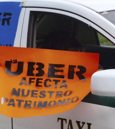 """ARREMETE LÍDER TAXISTA CONTRA UBER:  """"Hay un hartazgo, pero provocado por Uber"""", dice Erick Castillo"""