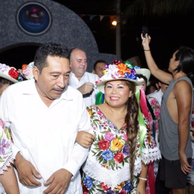La Fiesta Tradicional Maya proyecta costumbres ancestrales