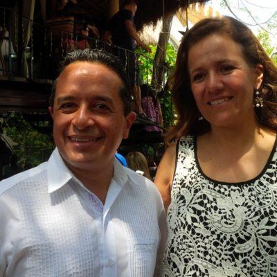 """Carlos Joaquín le desea """"la mejor de las suertes"""" a Margarita Zavala en su renuncia al PAN"""