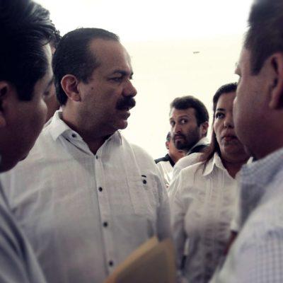 PLEITO LE MUEVE EL PISO AL CONGRESO: Tras enfrentamiento con Félix González, posponen comparecencia de Julián Ricalde con diputados
