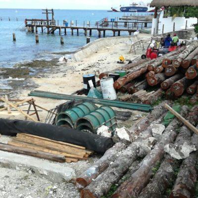 SIGUEN RECLAMOS POR CONSTRUCCIÓN DE MUELLE: Denuncian ambientalistas daños a arrecifes coralinos de Cozumel