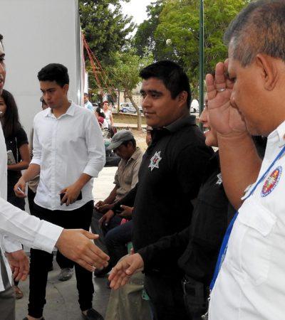 Realizan 'Jornadas de Seguridad' para dar atención a ciudadanos de forma directa en Cancún