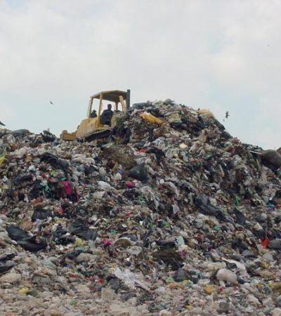 LE QUEDA UN MES DE VIDA A CELDA DEL RELLENO SANITARIO: Existe riesgo de contingencia sanitaria en Cancún, advierten