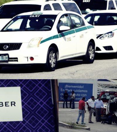 CONDUCTORES DE UBER, BLANCO DE ATAQUES: Entregó Sintra 'cheque de impunidad' a taxistas para hacer y deshacer en Cancún sin consecuencias