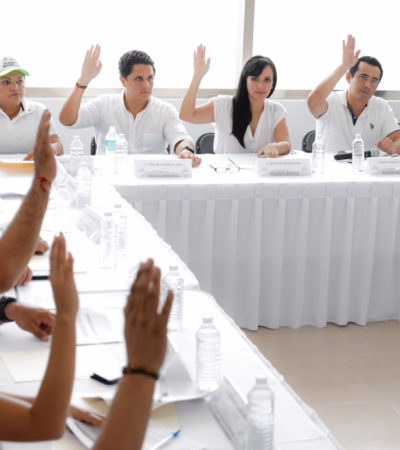 Modifica Coplademun el Programa de Inversión Anual 2017 para reforzar seguridad en Puerto Morelos