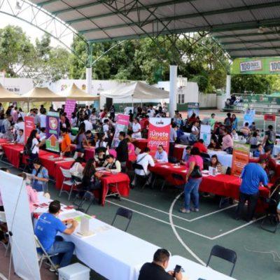 Suman 12 mil beneficiados con programa 'Contratación Express' en Cancún