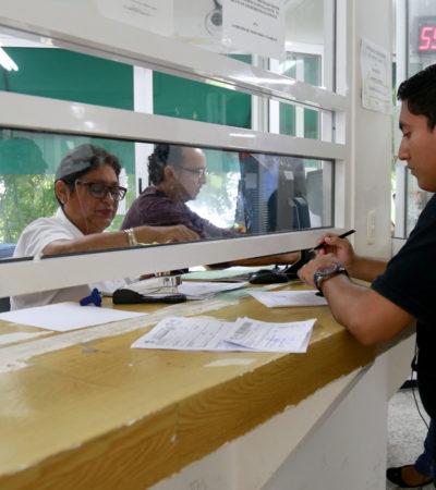 Prolongan hasta fin de mes descuentos por 'Buen Fin' para la regularización de trámites en Ayuntamiento de BJ