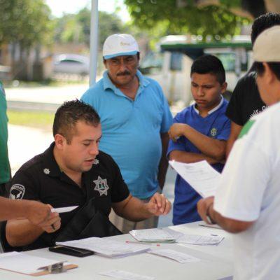 Realizan en Puerto Morelos quinta edición del programa 'Presidenta en tu colonia'