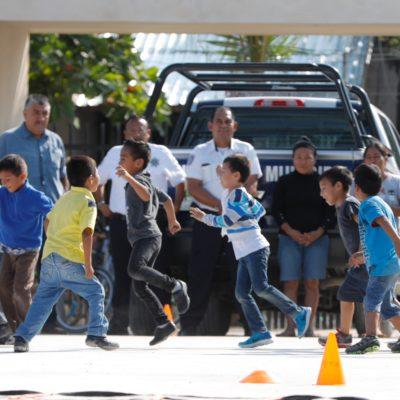 Programa 'Municipio en tu Escuela' llega a la primaria 'Nueva Creación en Puerto Morelos