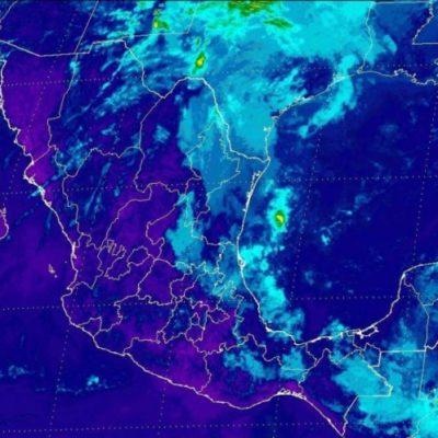 Nublados y fuertes vientos, el pronóstico para la Península de Yucatán por frente frío