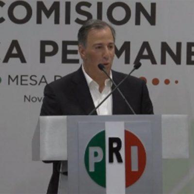 EN VIVO   'DESTAPE' EN CALIENTE: Se registra José Antonio Meade como precandidato del PRI para buscar competir en la elección presidencial