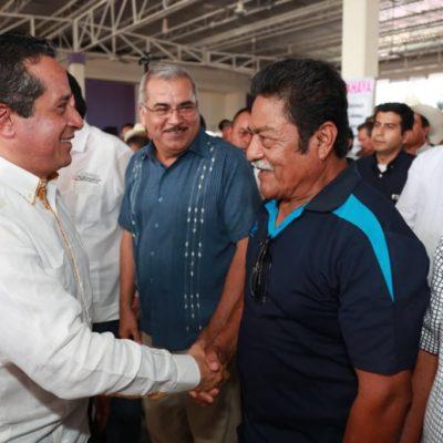 Entrega Carlos Joaquín 31.5 mdp del programa de Concurrencia 2017 y 52 mdp de programas estatales para impulsar la producción en el sur de QR