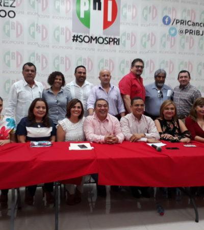 Error de envío exhibe a diputado José Luis González al criticar designación de integrantes de dirigencia priista en BJ